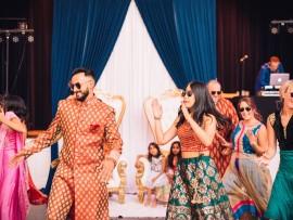 045-fun-Womens-Club-of-Evanston-pithi-ceremony-bride-groom-