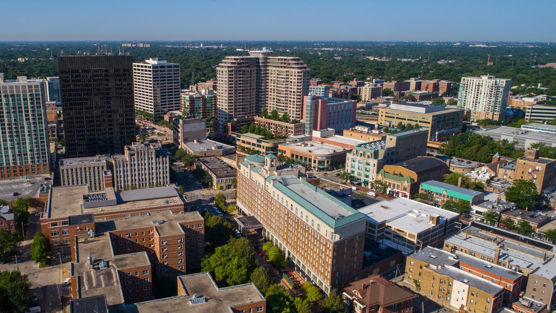 Downtown Evanston